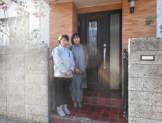 東京都杉並区 一戸建て 西川様邸 内窓・サッシ・玄関ドア交換