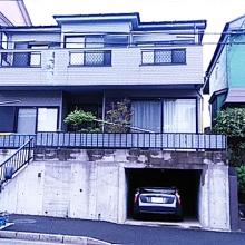 外壁屋根塗装及びベランダサイディング張り替え施工前