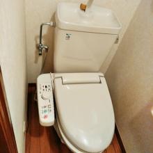 トイレ交換施工前