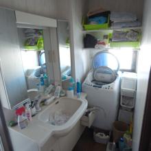 洗面室施工前