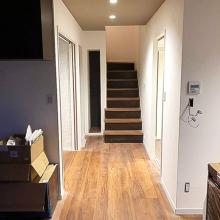 階段収納リフォーム前