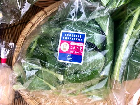 新鮮野菜を販売しています。